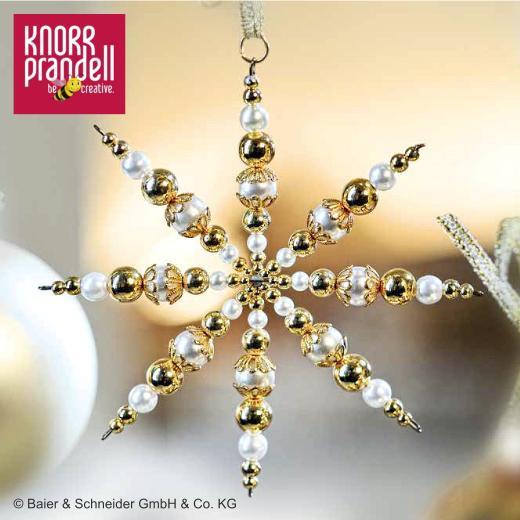 Beaded Christmas Stars