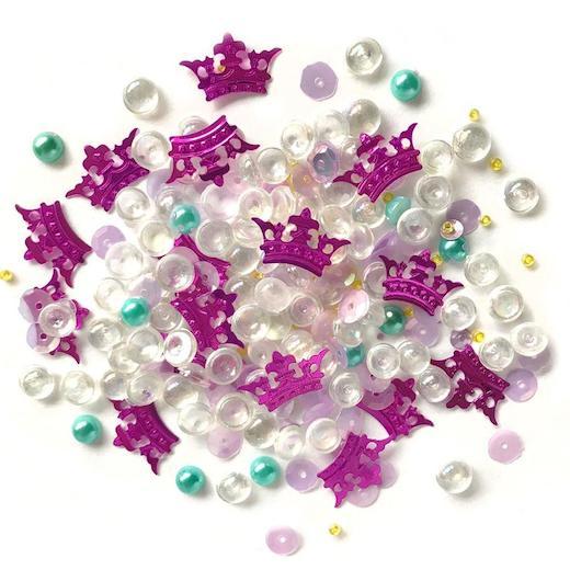 Buttons Galore Sparkletz Embellishment Pack Princess Dreams에 대한 이미지 검색결과