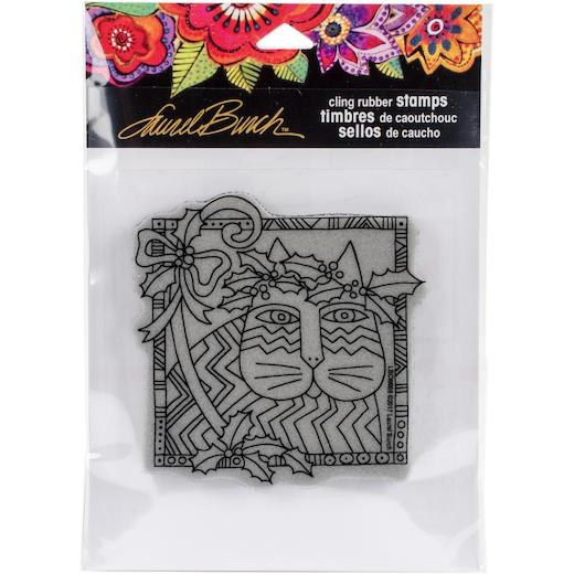 Stampendous Laurel Burch Cling Stamp Holly Catlbcw008