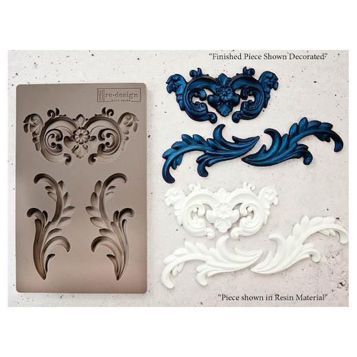 Prima-RE-Design-5-034-x-8-034-Stampo-in-silicone miniatura 19