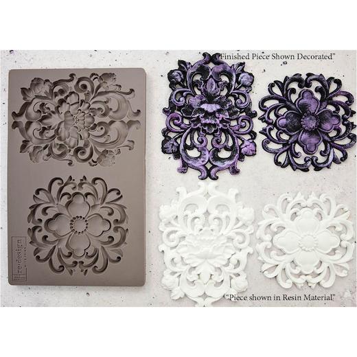 Prima-RE-Design-5-034-x-8-034-Stampo-in-silicone miniatura 40