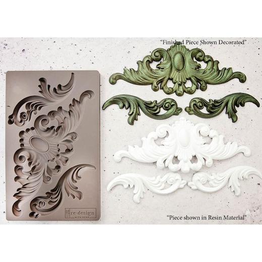 Prima-RE-Design-5-034-x-8-034-Stampo-in-silicone miniatura 70