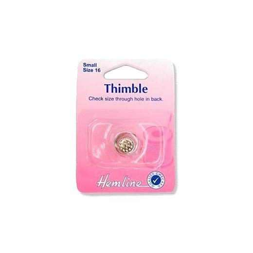 Thimble Size 16 Metal Small