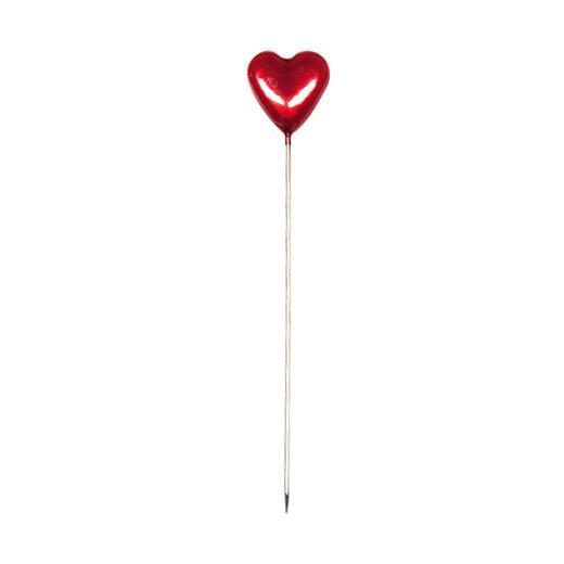 30 HEART SEWING PINS 5.5cm//55mm LONG