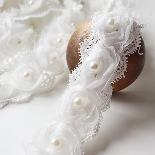 Buddly Crafts Guipure Lace Antique White 1m