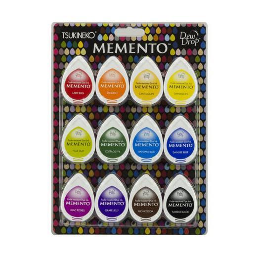 Details About Tsukineko Memento Dew Drop Ink Pads Set