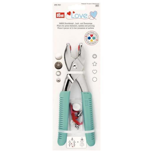 Prym Love Vario Pliers with Piercing & Snaps Tools #390901