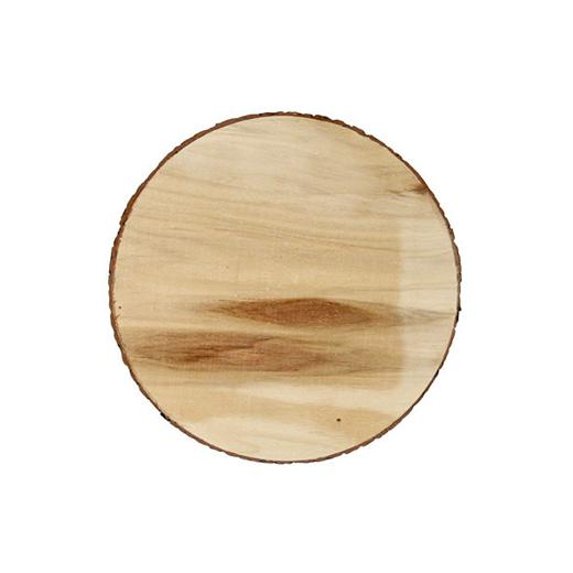Stafil 18x16x15cm Bare Wood Bird House #8630-71