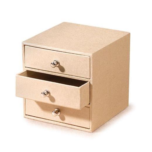 Knorr Prandell Cardboard Box With 3 Drawers Buddly Crafts