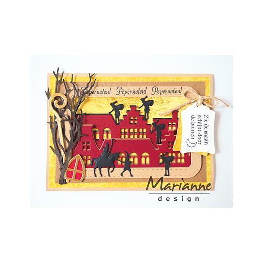 Image result for cards made using marianne design die LR0494