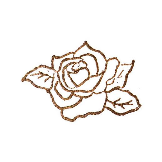 Viva D Stamp Paint Carmine Red