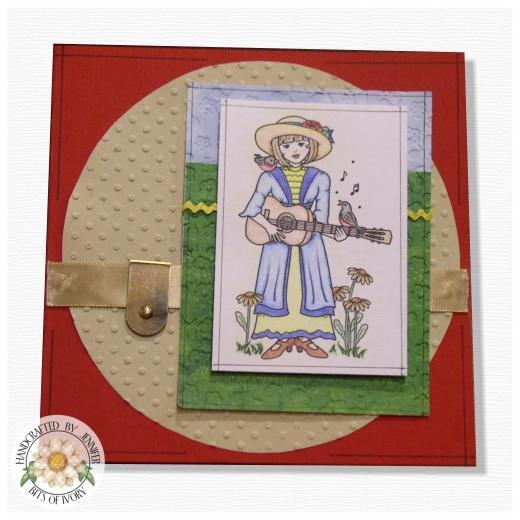 Barbara anne williams digital stamp milly 39 s serenade buddly crafts - Serenade ivry ...