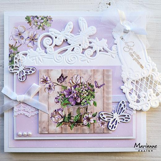 Image result for cards made using Mariane creatables butterfly border
