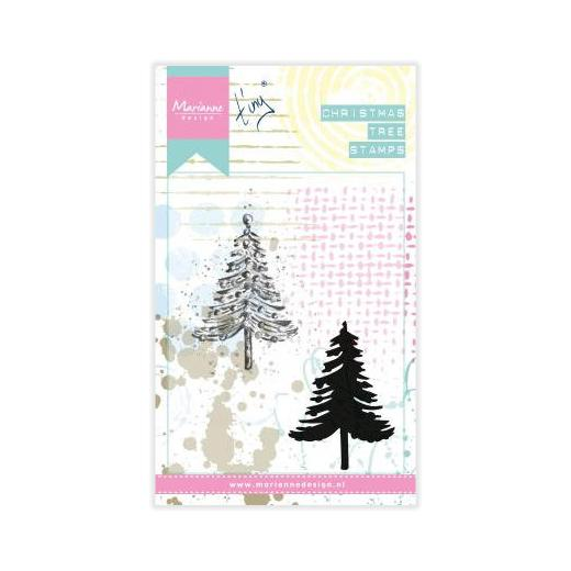 Marianne Design Layering Stamps Tiny S Christmas Tree Mm1625