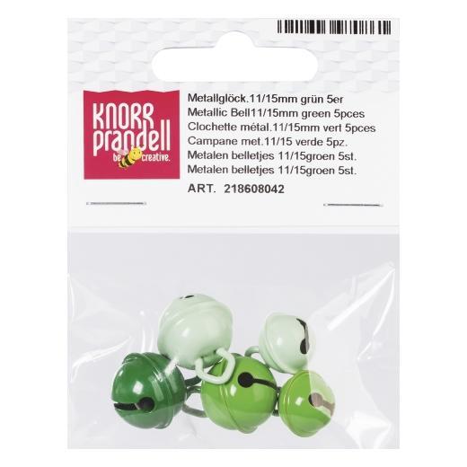 Knorr Prandell 11-15mm Metallic Jingle Bells 5pcs