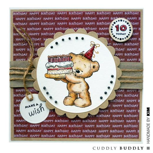Cuddly Buddly Clear Stamps
