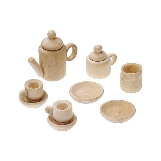 Knorr Prandell Wooden Miniature Tea Coffee Set 11pcs 512