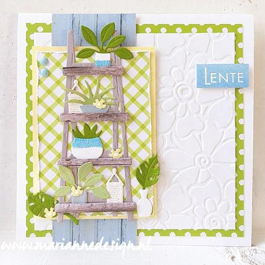 Marianne Design Craftables Cutting Dies Dreaming Bear by Marleen CR1503