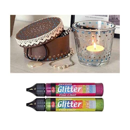 Viva Decor German Glitter Glue Pen
