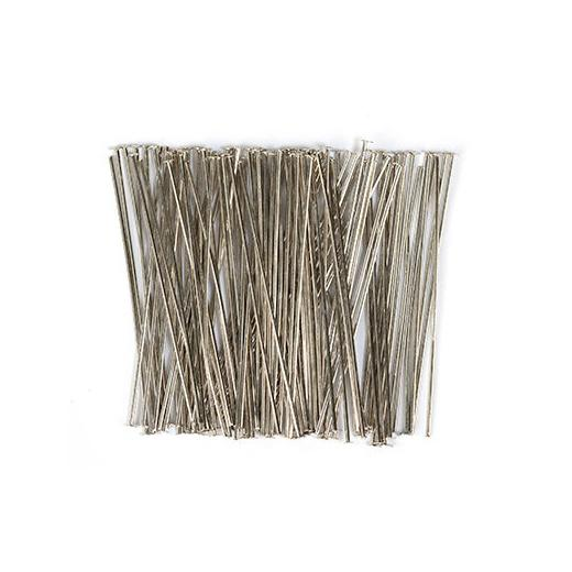 100pcs Metal Wire Fine Iron Wire DIY Hobby Craft Artistic Wire Model 0.7x300mm