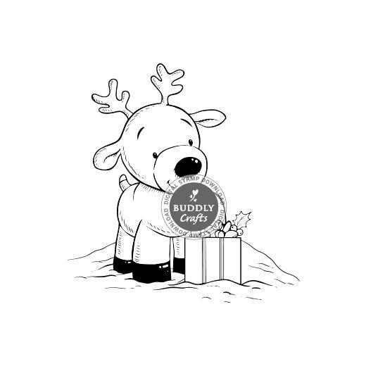When Is Little Christmas.Pachela Studios Digital Stamp Little Christmas Deer