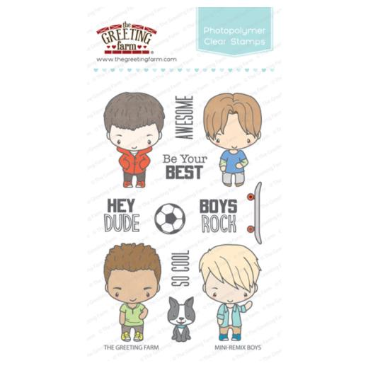 The greeting farm clear stamps set mini remix boys tgf mrb67 the greeting farm clear stamps set mini remix boys tgf mrb67 m4hsunfo