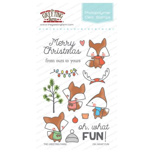 The greeting farm clear stamps set oh what fun tgf owf61 buddly the greeting farm clear stamps set oh what fun tgf owf61 m4hsunfo