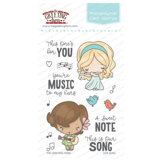 The greeting farm clear stamps set our song tgf ous72 buddly crafts the greeting farm clear stamps set our song tgf ous72 m4hsunfo