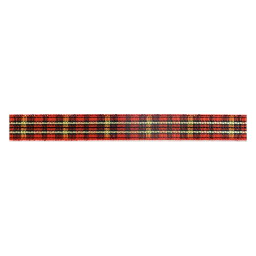 Buddly Crafts 10mm Plaid Ribbon - 2m Red