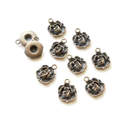 Buddly Crafts Antique Bronze Metal Charms
