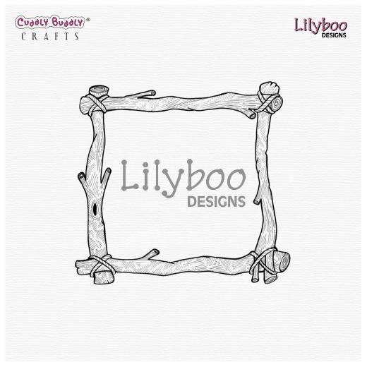 Lilyboo Designs Digital Stamp - Safari Frame | Buddly Crafts