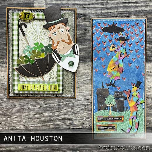 dise/ño de The Park by Tim Holtz Sizzix 665204 Troquel Thinlits 14 unidades