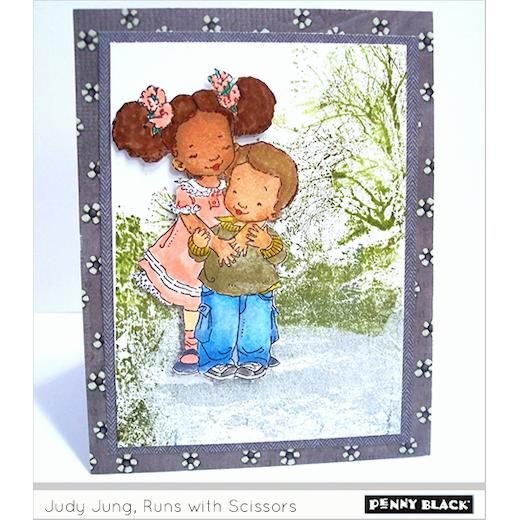 Penny Black Andrea and Raul Clear Unmounted Rubber Stamp 30-362