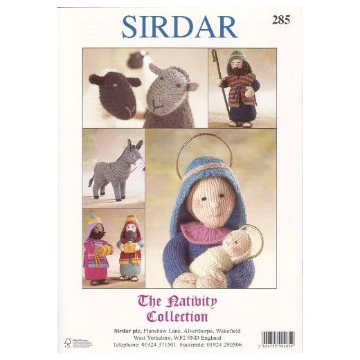 Sirdar DK Knitting Pattern - 285 The Nativity Collection ...