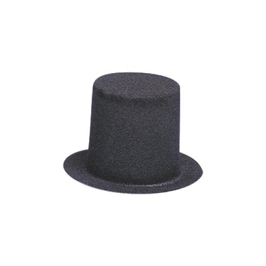 Knorr prandell miniature flocked top hat ebay for Tiny top hats for crafts