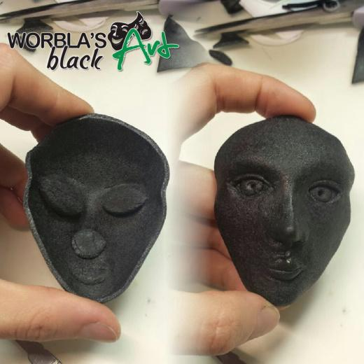 Worbla-Black-Art-WBA-Thermoplastic-Modelling-amp-Moulding-Sheet miniatuur 5